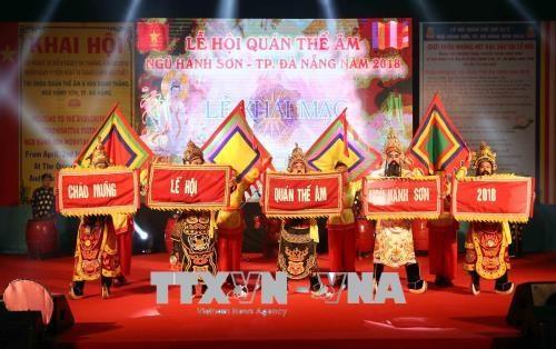 越南旅游:2018年观世音-五行山庙会正式开庙 hinh anh 1