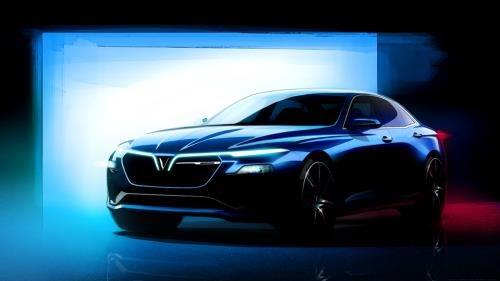 VinFast的两款Sedan和SUV车型获得外观设计专利证书 hinh anh 1