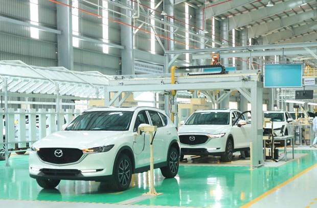年产5万辆的越南长海汽车生产厂投入运行 hinh anh 1