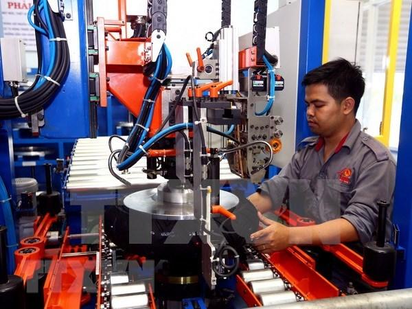 今年第一季度胡志明市工业生产指数增长6.05% hinh anh 1
