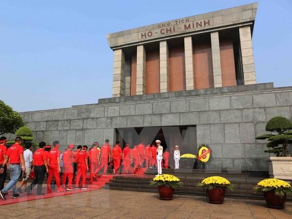 胡志明主席陵墓例行维修时间调整 hinh anh 1