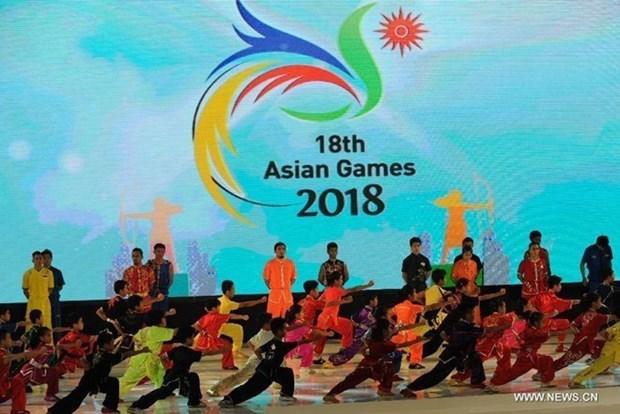 印度尼西亚举行第18届亚洲运动会新闻发布会 hinh anh 1