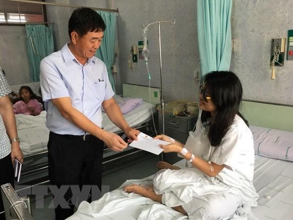 越南愿采取措施来保护泰国公寓火灾中受影响的公民 hinh anh 1
