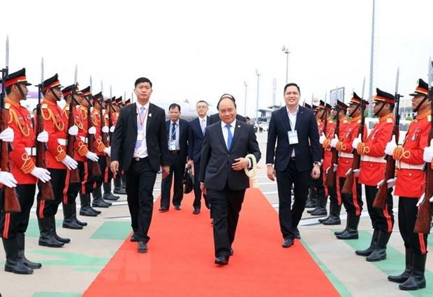 越南政府总理阮春福出席湄公河委员会第三届峰会之旅圆满结束 hinh anh 1