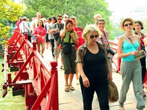 2018年河内力争吸引国际游客550万人次 hinh anh 2