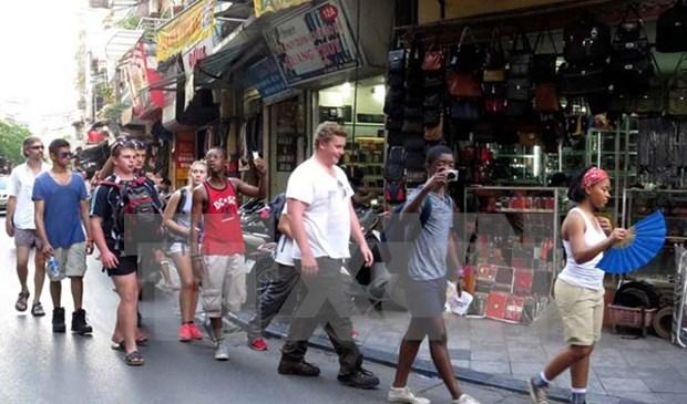 2018年河内力争吸引国际游客550万人次 hinh anh 1