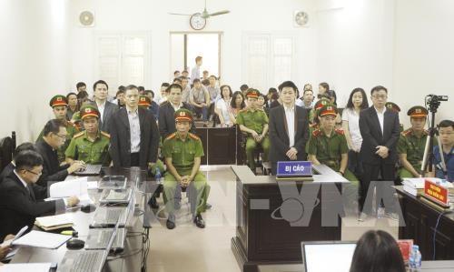 河内市人民法院以《煽动颠覆人民政府罪》开庭审理6名被告人 hinh anh 1