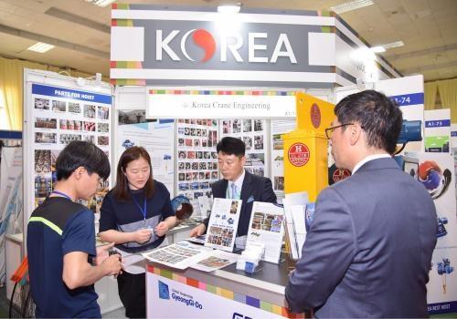 2018年越南国际贸易博览会为越韩企业深化合作创造机会 hinh anh 1