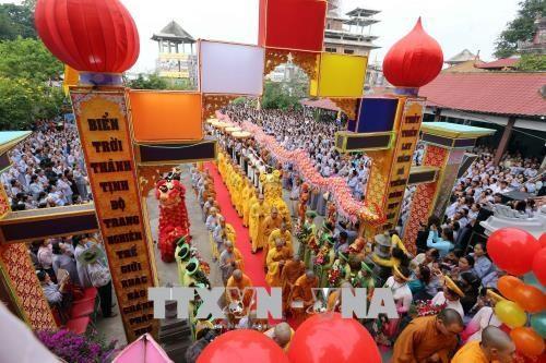 岘港市确保2018年观世音-五行山庙会安全有序 hinh anh 3