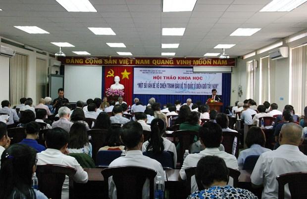 越南首次举办从历史学角度看待西南边界战争 hinh anh 1