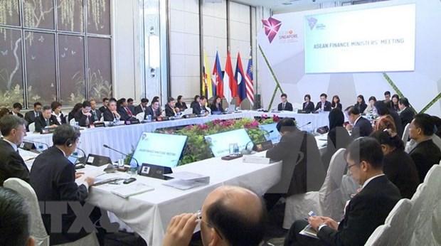第22届东盟财长会议在新加坡召开 hinh anh 1