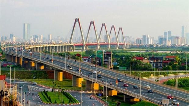 2018年第一季度越南首都河内经济保持较高增长势头 hinh anh 1