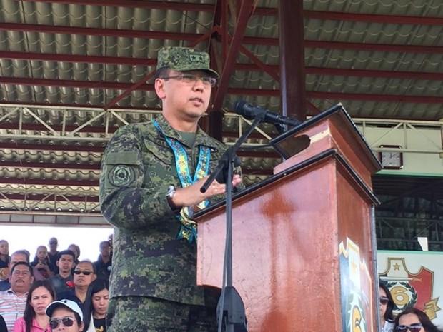 菲律宾总统任命新的武装部队总参谋长 hinh anh 1