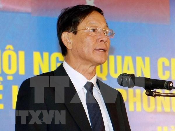 越南公安部原警察局局长潘文永被捕 hinh anh 1