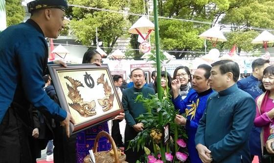 在日本爱知县的越南文化节给游客留下深刻印象 hinh anh 2