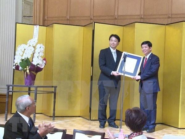 越南驻日本爱知县名誉领事与越日关系发展息息相关 hinh anh 1