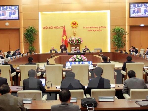 越南国会常务委员会4月10日召开第23次会议 hinh anh 1