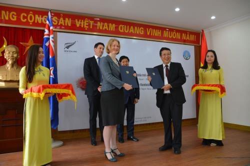 越南首批红毛丹正式出口到新西兰 hinh anh 1