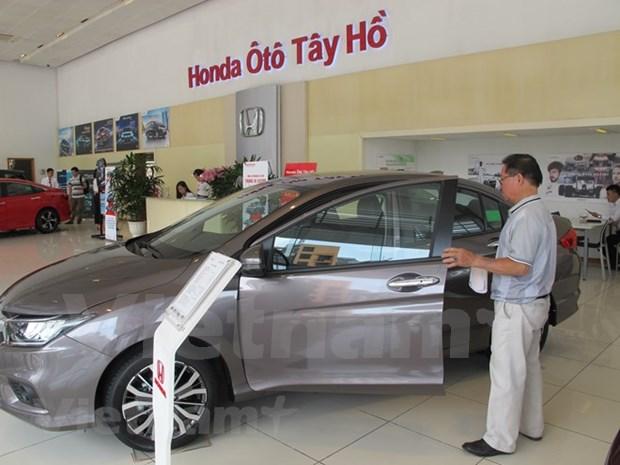2018年3月份越南汽车销量环比增长70% hinh anh 2