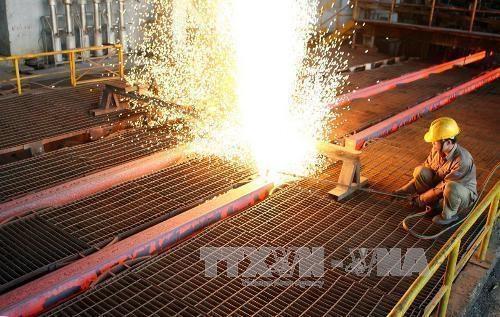 2018年第一季度和发集团建筑钢材产量同比增长10% hinh anh 1