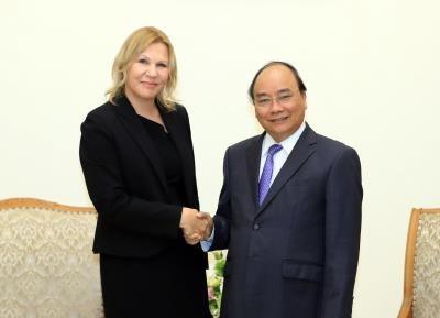 阮春福总理会见国际金融公司副总裁斯托伊科维奇 hinh anh 1