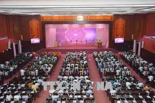 高棉族同胞欢度2018年传统新年 hinh anh 1