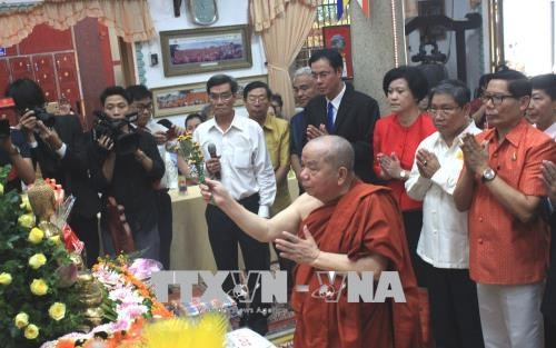 胡志明市举行柬老缅泰传统新年庆祝活动 hinh anh 1