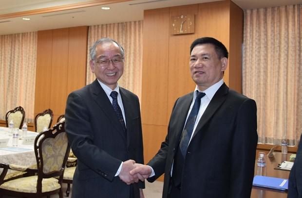 越南审计署代表团对日本进行工作访问 hinh anh 1