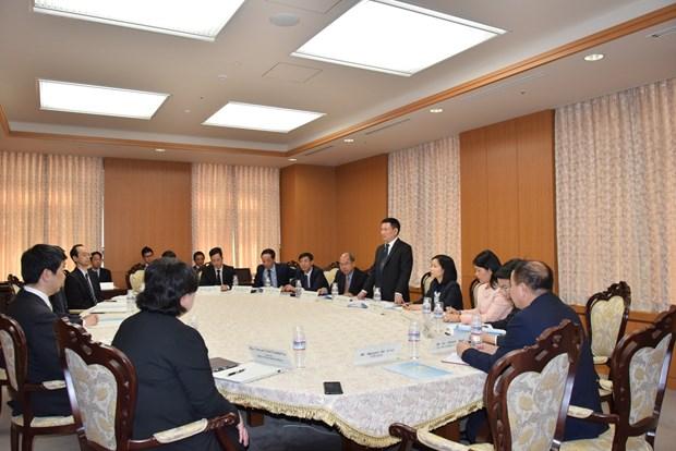 越南审计署代表团对日本进行工作访问 hinh anh 2