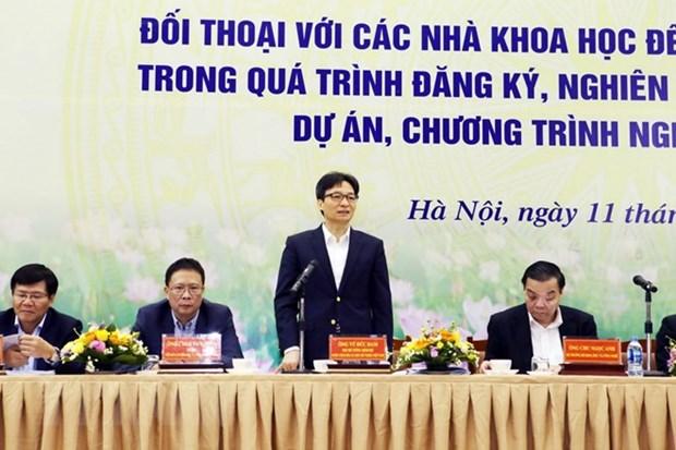 武德儋副总理:赋予科学家更多自主权 hinh anh 1