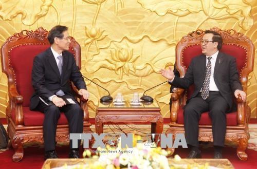 亚洲政党国际会议秘书长访问越南 hinh anh 1