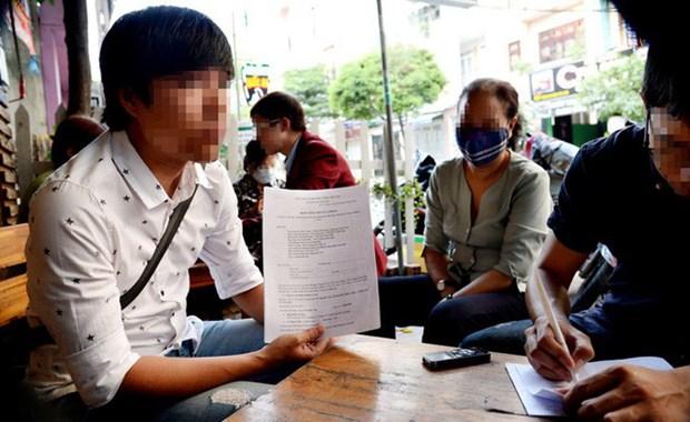越南政府副总理王廷惠要求对网络虚拟币诈骗传销案采取处罚措施 hinh anh 1
