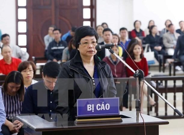 高级人民检察院提议维持一审法院对被告人珠氏秋俄作出的无期徒刑判决 hinh anh 1