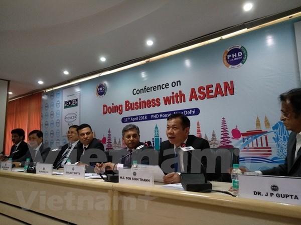 印度与东盟促进商务合作 hinh anh 2