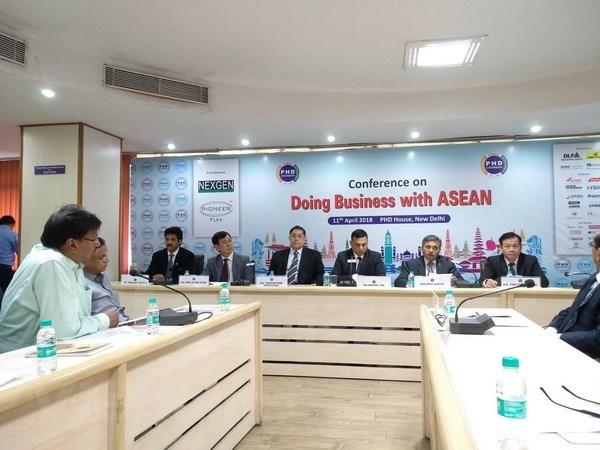印度与东盟促进商务合作 hinh anh 1