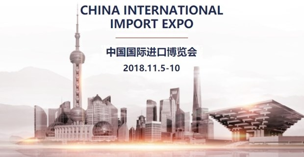 越南在2018年中国国际进口博览会将设60个标准展位 hinh anh 1