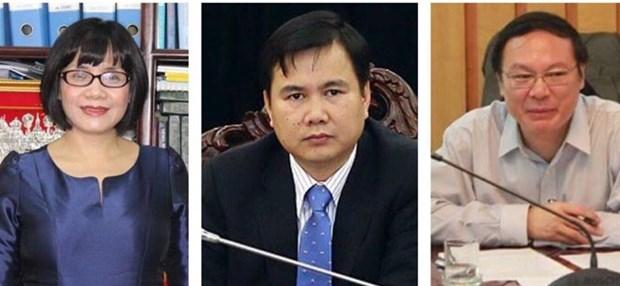 越南政府总理任命三名副部长 hinh anh 1