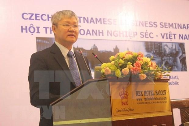 越南与捷克经贸投资合作有利条件多 潜力巨大 hinh anh 1