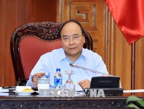 越南政府总理阮春福主持越南与欧盟贸易合作会议 hinh anh 2