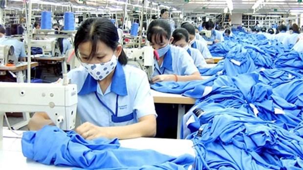 印度对越南的纺织品出口猛增 hinh anh 1