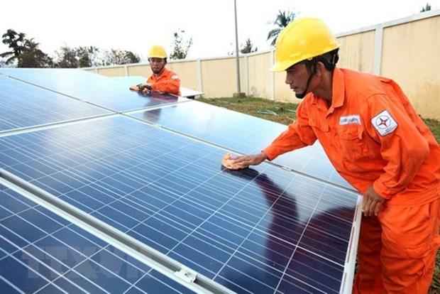 得乐省太阳能发电项目增至18个 hinh anh 1
