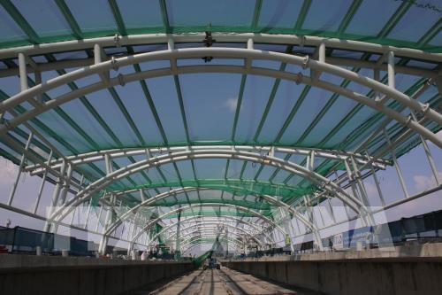 胡志明市地铁一号线两个 A级车站力争四月底完工 hinh anh 2