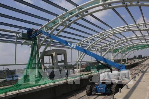 胡志明市地铁一号线两个 A级车站力争四月底完工 hinh anh 1