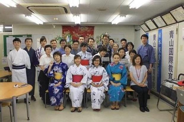日本企业与越南大学生进行交流 hinh anh 1