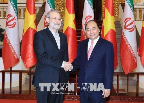 越南政府总理阮春福会见伊朗伊斯兰共和国议会议长阿里•拉里贾尼 hinh anh 1