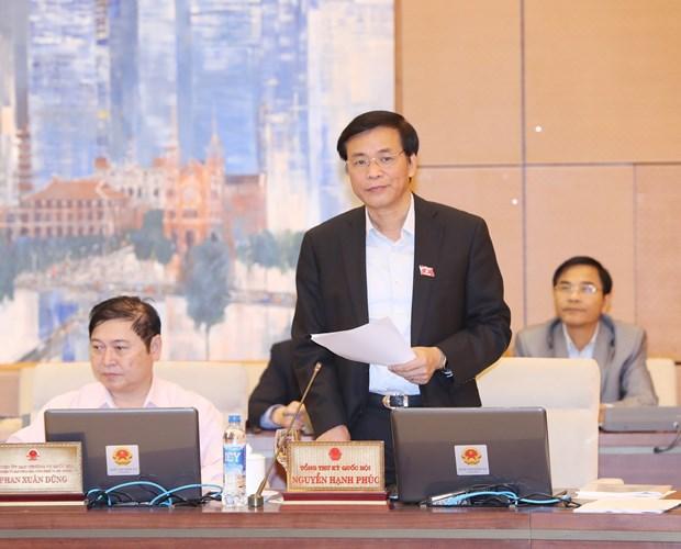 第十四届国会常委会第23次会议:质询及质询答复活动继续得到积极改善 hinh anh 2