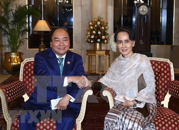 进一步加深越南与缅甸全面合作关系 hinh anh 1