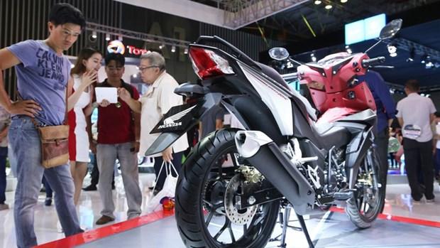 2018年第一季度越南摩托车销量略有增长 hinh anh 1