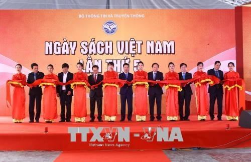 第五次越南图书日系列活动正式开幕 hinh anh 1