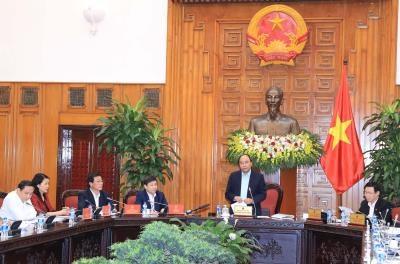 越南政府领导与最高人民检察院举行工作会议 hinh anh 1